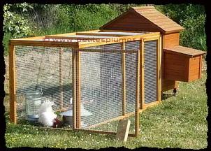 Le poulailler la maison des poules - La maison de la poule ...